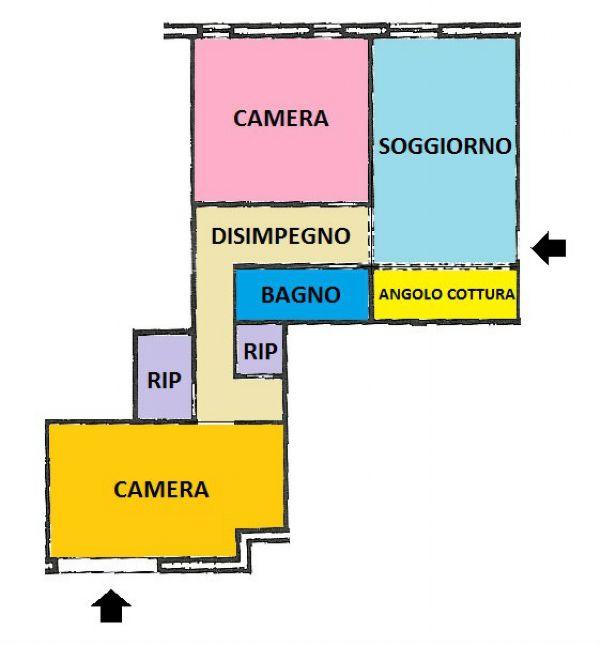Appartamento in vendita a Moconesi, 4 locali, prezzo € 35.000 | Cambio Casa.it