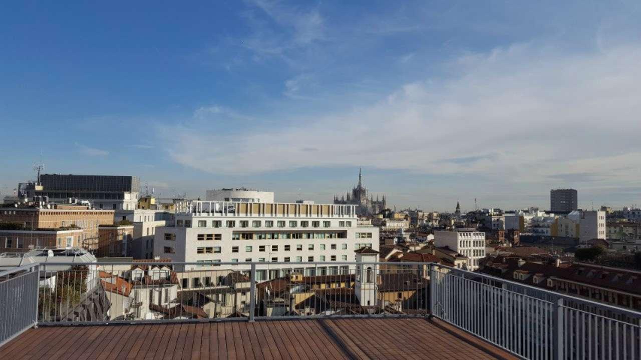 Attico / Mansarda in affitto a Milano, 6 locali, zona Zona: 1 . Centro Storico, Duomo, Brera, Cadorna, Cattolica, prezzo € 13.750 | Cambio Casa.it
