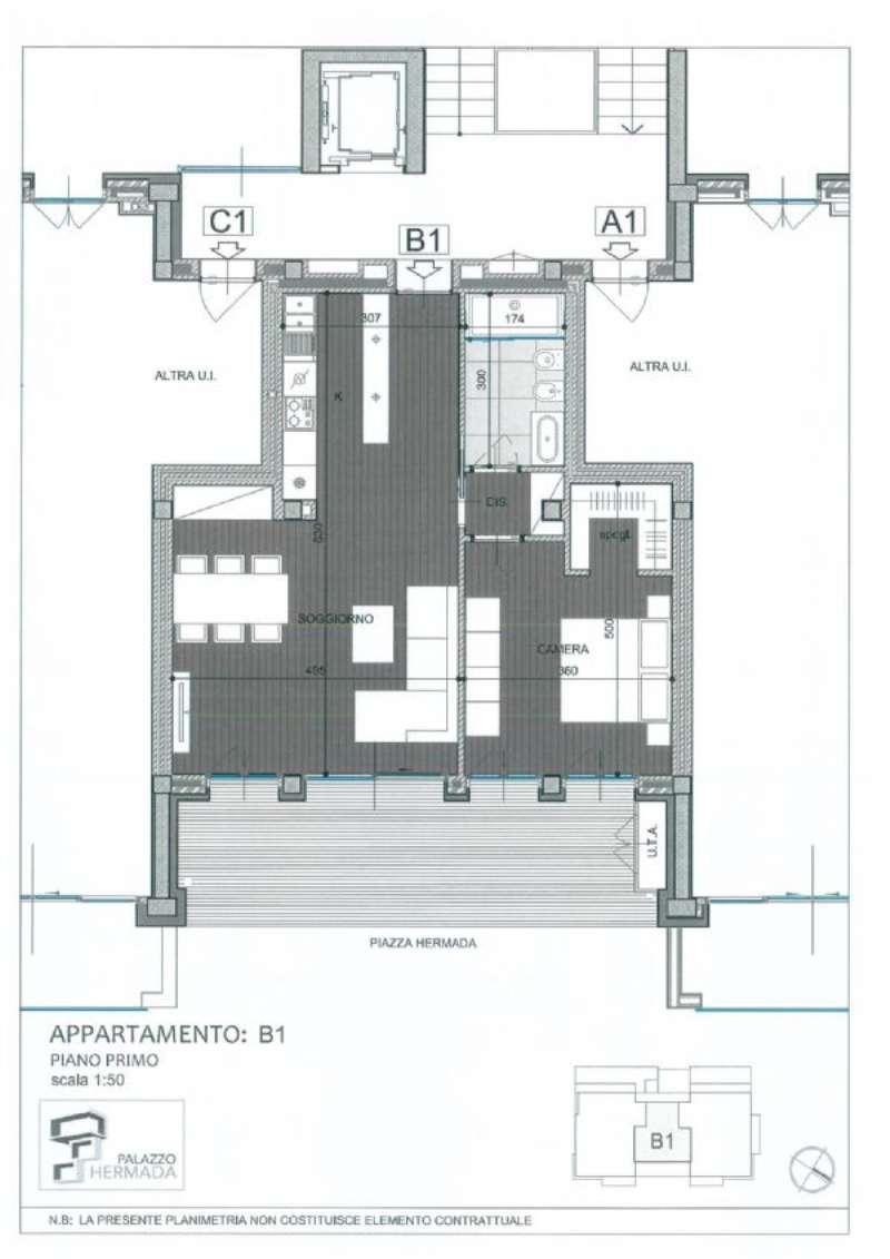 Vendita  bilocale Torino Corso Quintino Sella 1 1033831