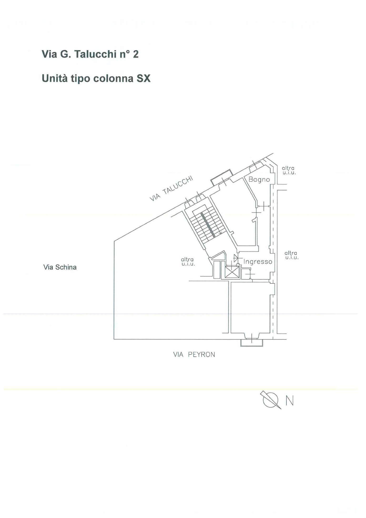 Affitto  bilocale Torino Via Talucchi 1 1015838