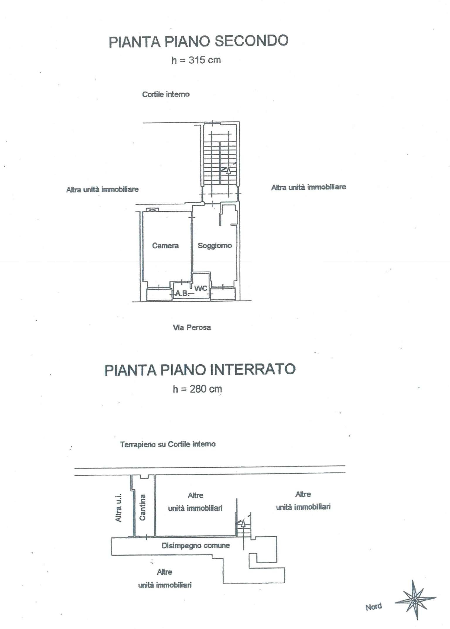Vendita  bilocale Torino Via Perosa 1 936998