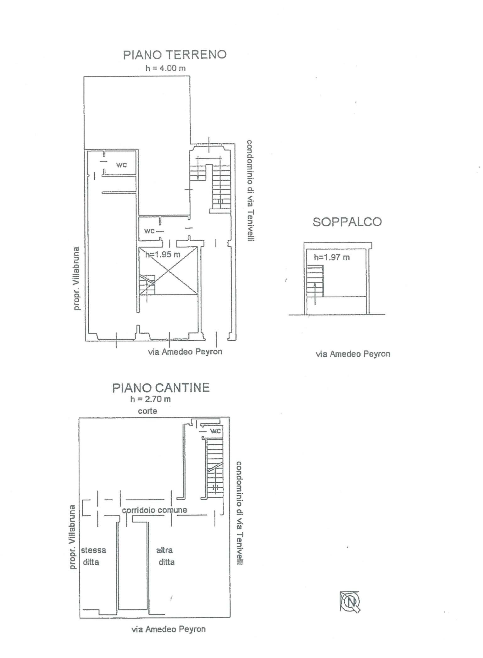 Bilocale Torino Via Amedeo Peyron 9