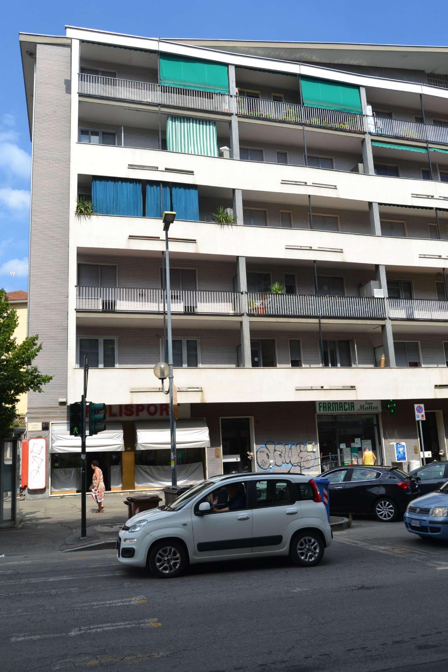 Immagine immobiliare Moncalieri, Affittasi Appartamento di 83 mq. nella centrale Corso Roma, 88 prospicente la realizzazione della prossima fermata della Metropolitana. L'appartamento posto al primo piano di una palazzina in buon ordine generale, è cosi...
