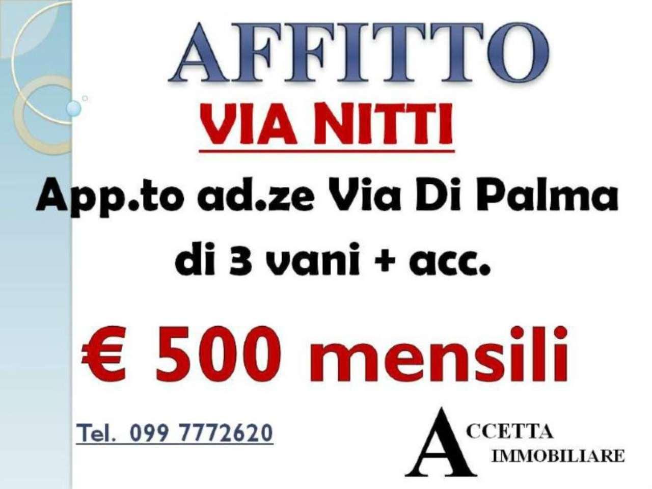 Appartamento in affitto a Taranto, 4 locali, prezzo € 500 | Cambio Casa.it