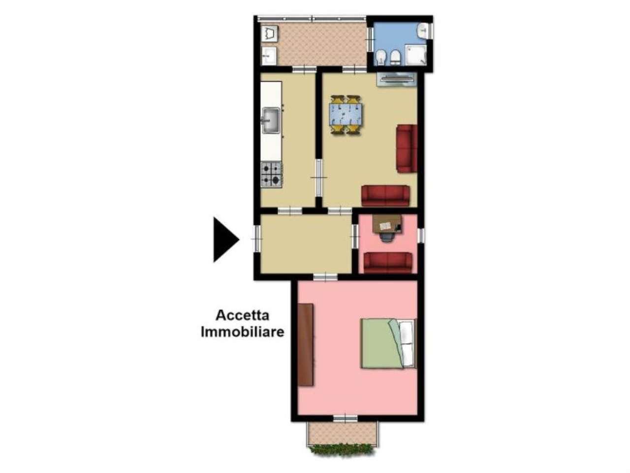 Vendita  bilocale Taranto Via Cavallotti 1 854186