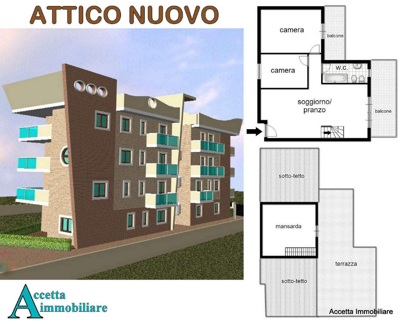 Attico, talsano, Vendita - Taranto