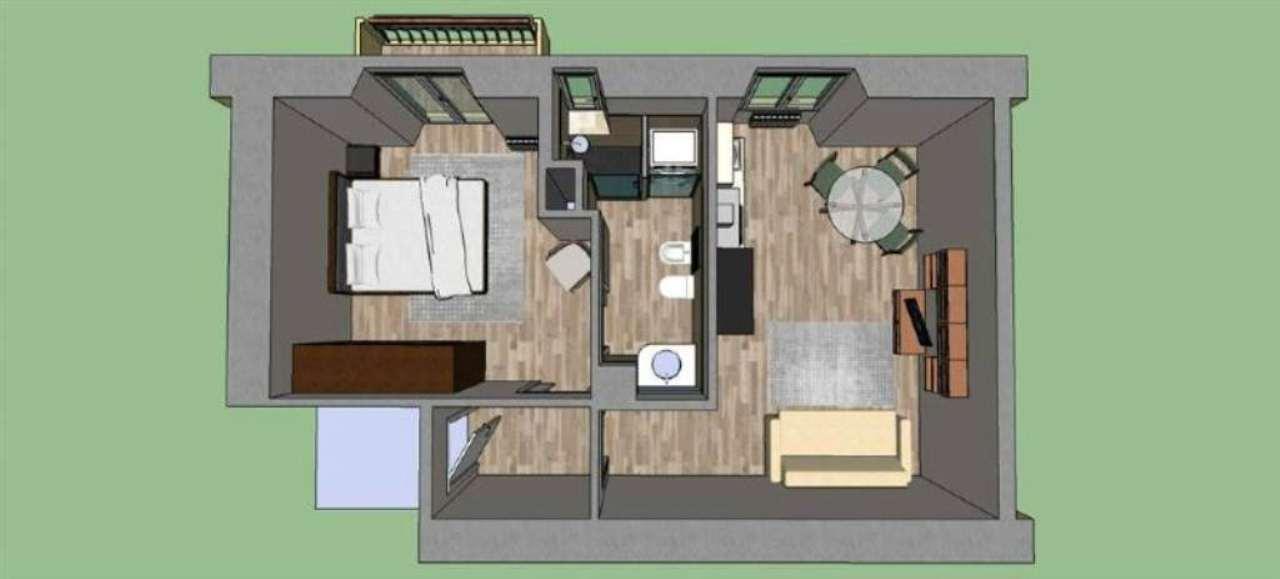 Appartamento in vendita a Milano, 2 locali, zona Zona: 18 . St. Garibaldi, Isola, Maciachini, Stelvio, Monumentale, prezzo € 155.000 | Cambio Casa.it