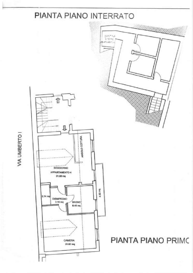 Affitto  bilocale Pecetto Torinese Via Umberto I 1 947051