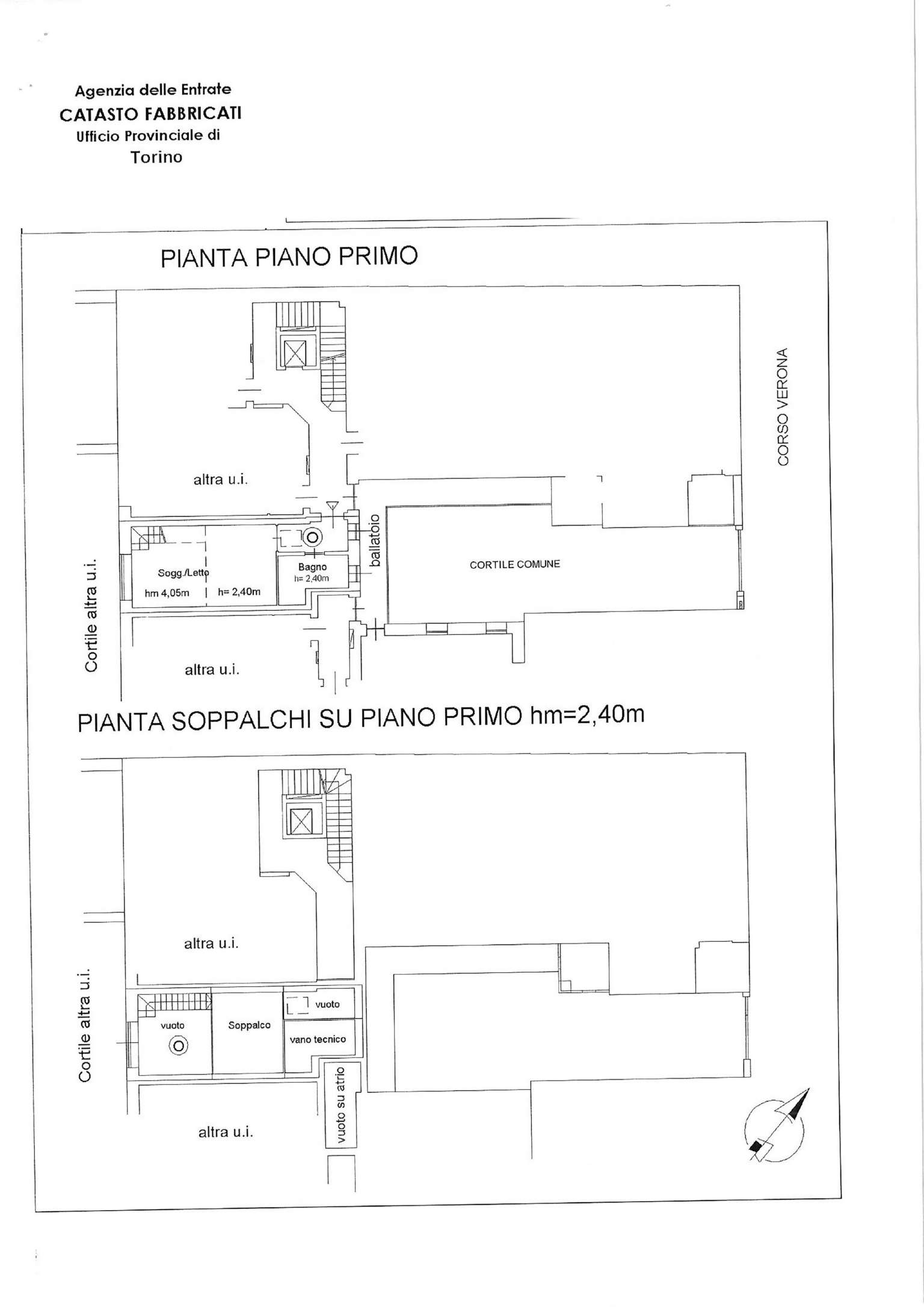 Vendita  bilocale Torino Corso Verona 1 1059358