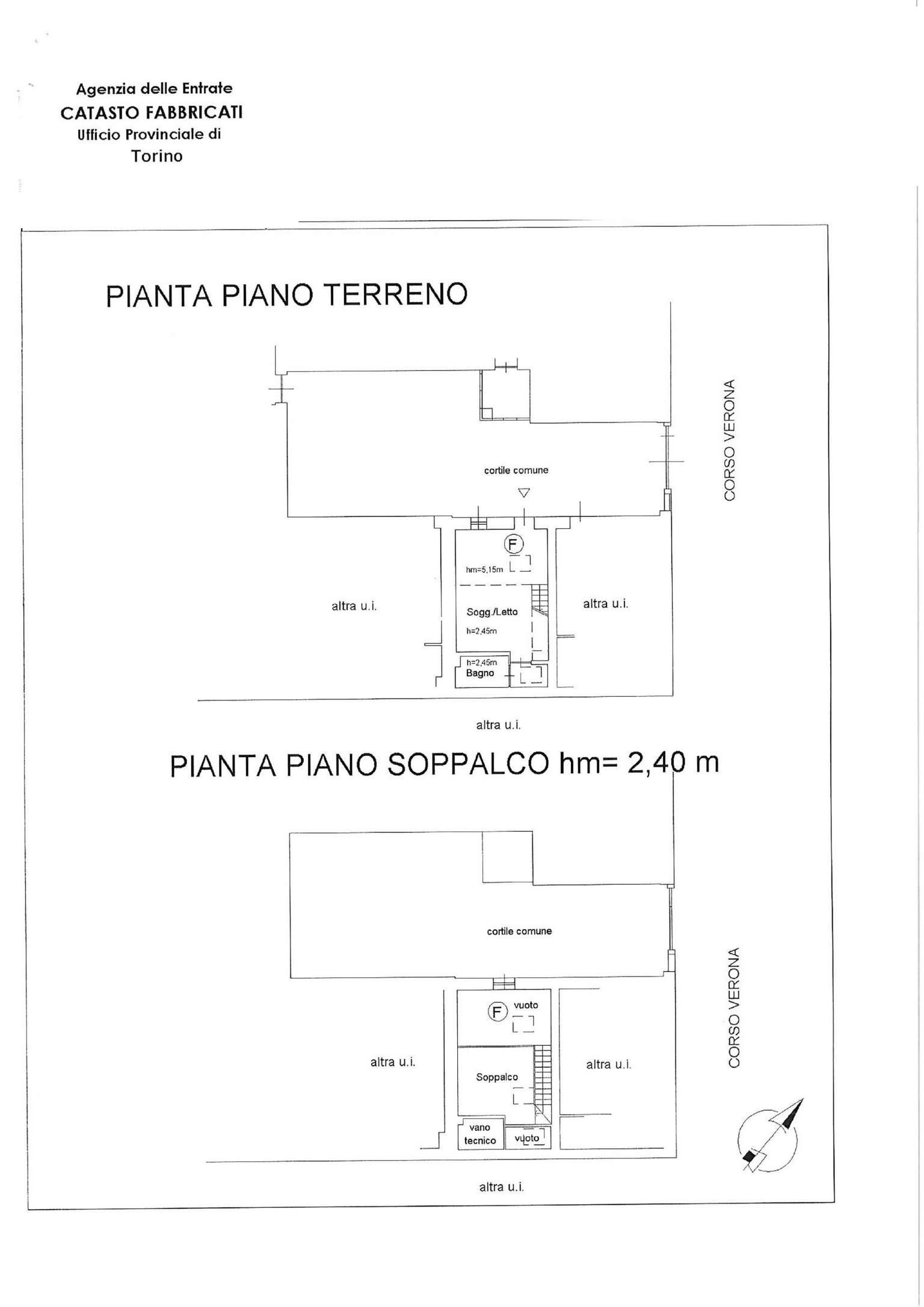 Vendita  bilocale Torino Corso Verona 1 1081311