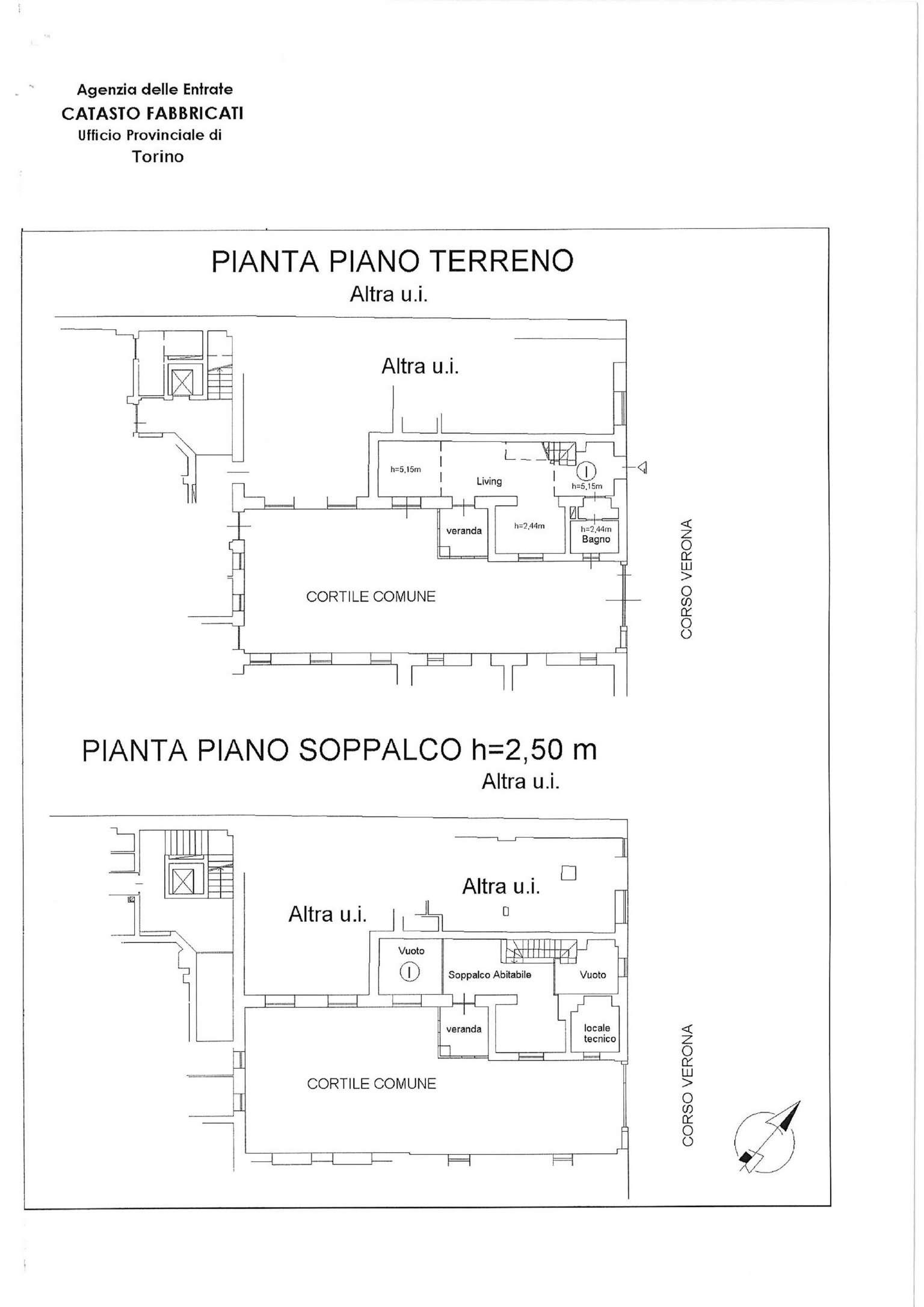 Vendita  bilocale Torino Corso Verona 1 943612