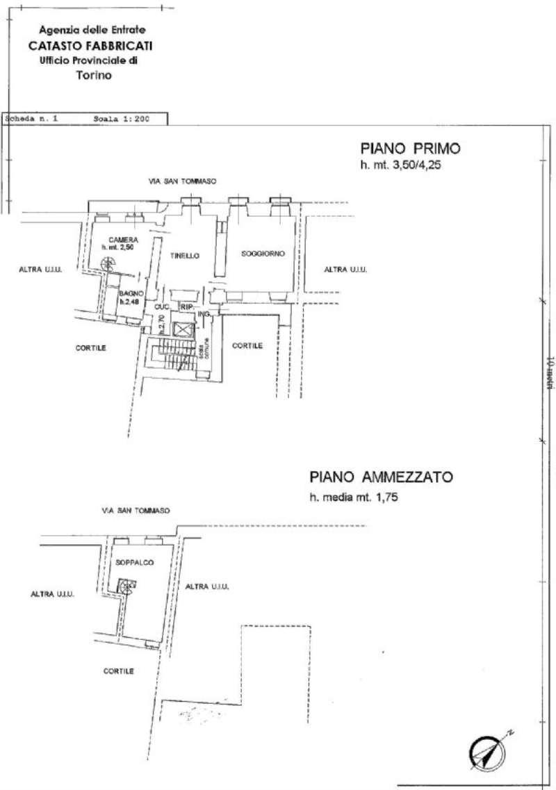 Vendita  bilocale Torino Via Garibaldi 1 1002336