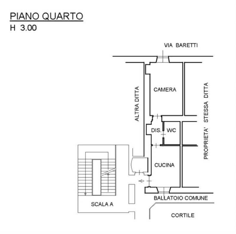 Vendita  bilocale Torino Via Nizza 1 1012537