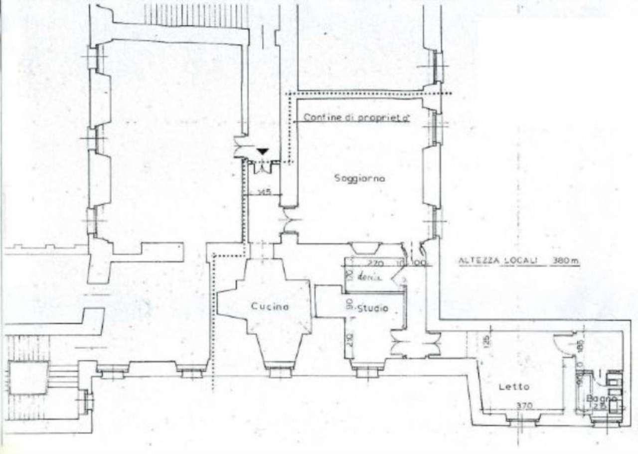 Vendita  bilocale Cinzano Via Vicolo Del Castello 1 1067626