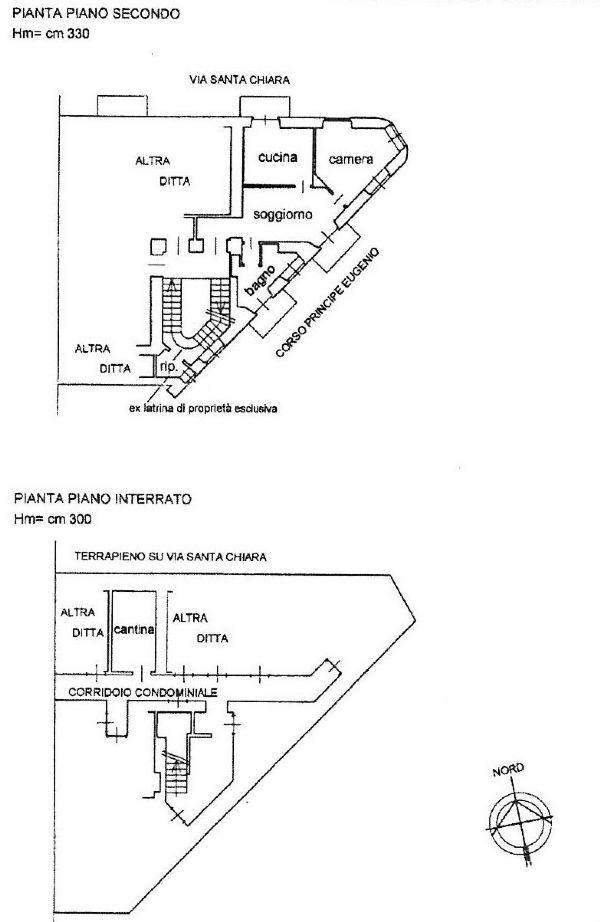 Vendita  bilocale Torino Corso Principe Eugenio 1 1075854