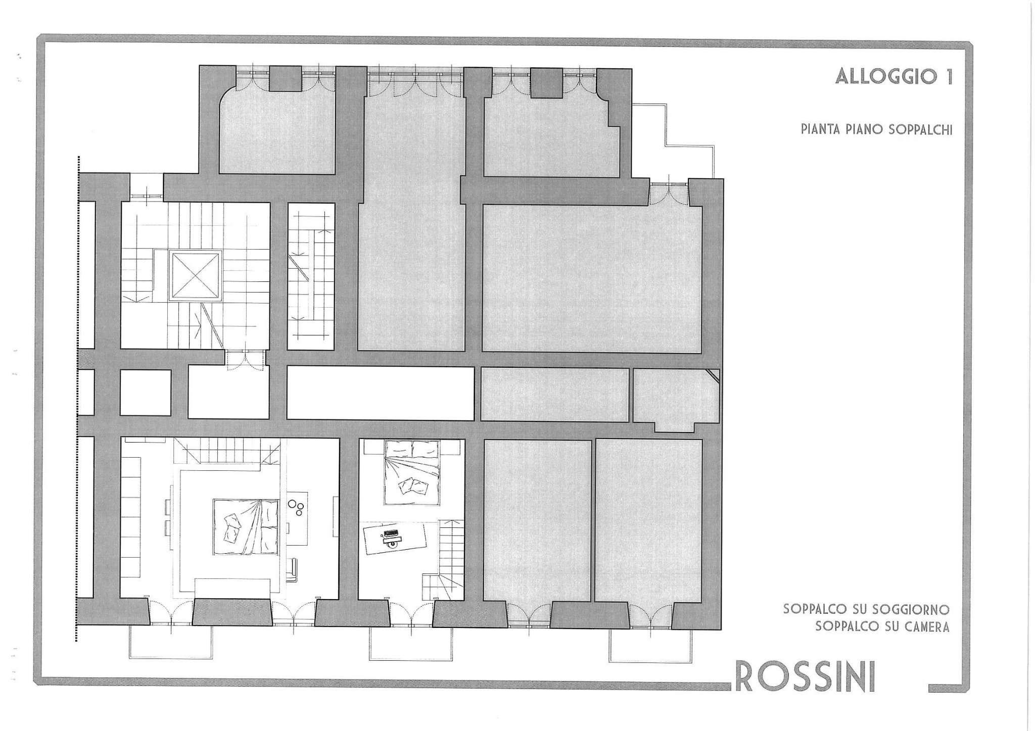 Vendita  bilocale Torino Via Rossini 1 1063557