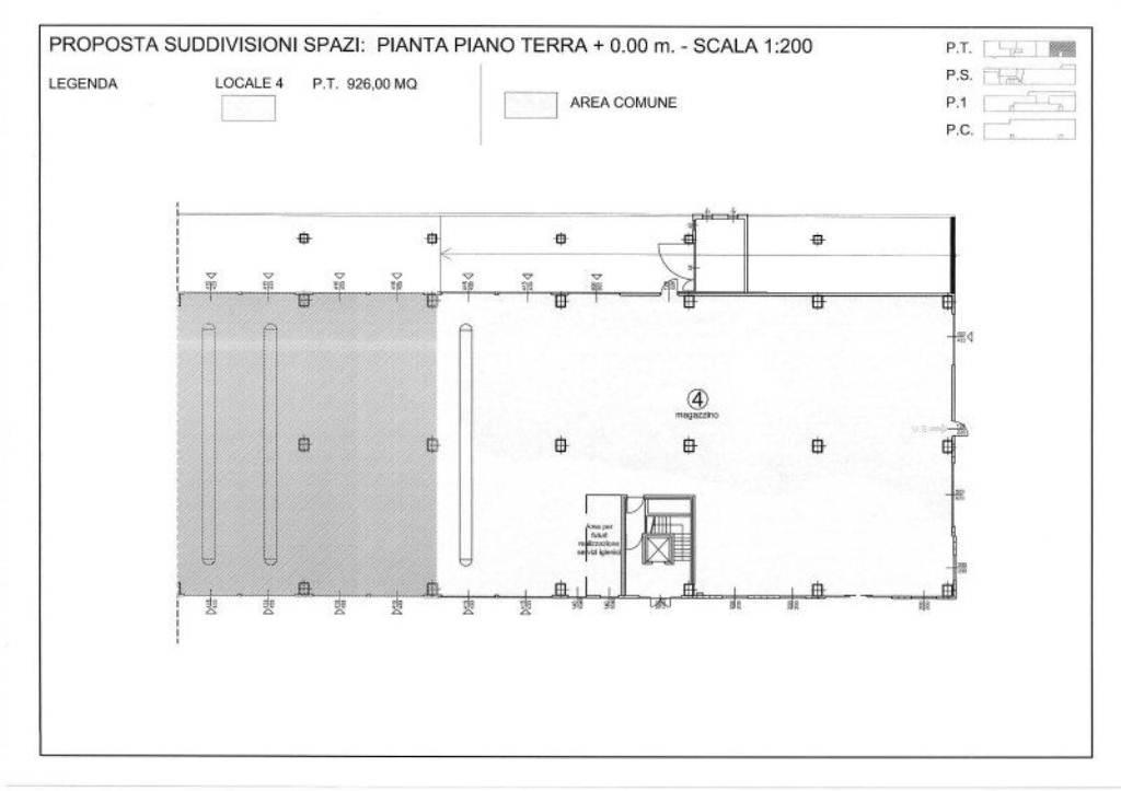 Settimo Torinese Affitto CAPANNONE Immagine 1