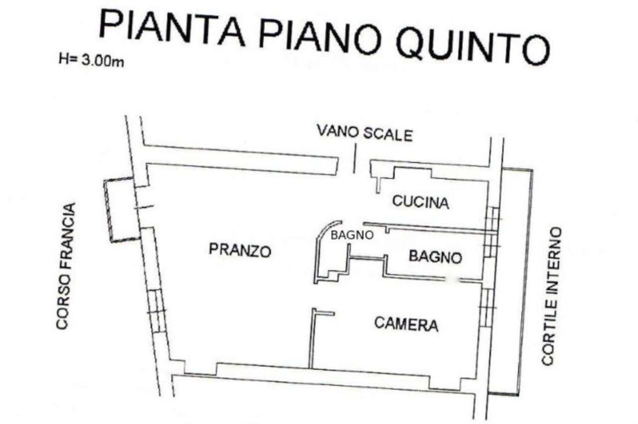 Vendita  bilocale Torino Corso Francia 1 899339