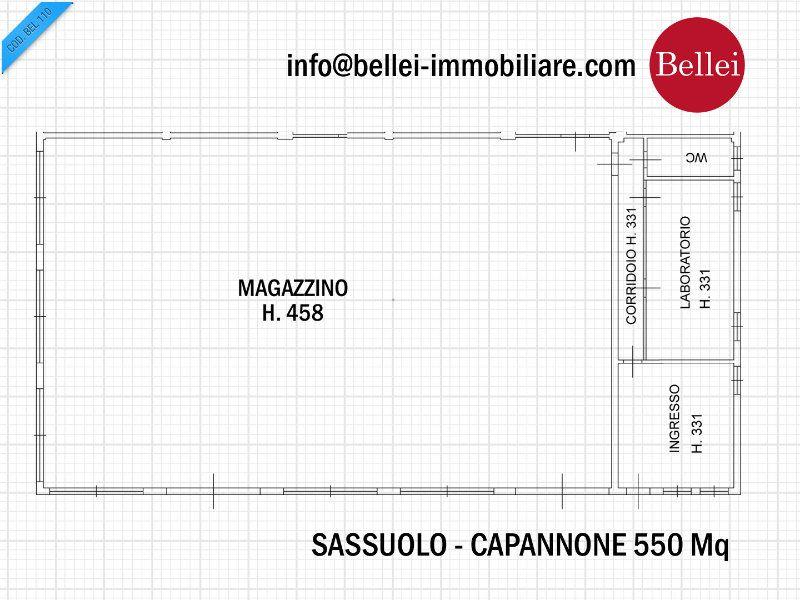 Capannone in affitto a Sassuolo, 4 locali, prezzo € 1.600 | CambioCasa.it