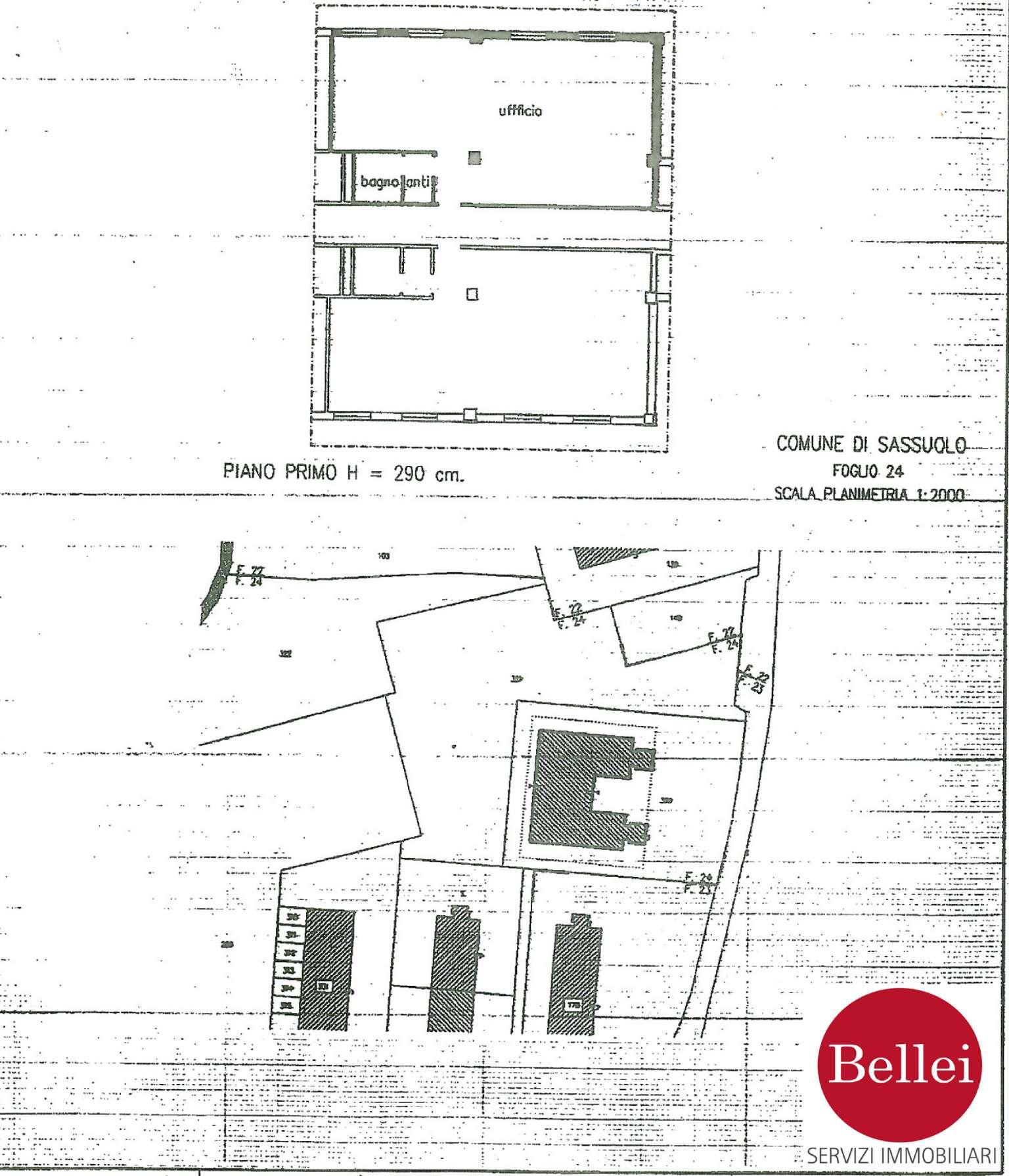 Ufficio / Studio in vendita a Sassuolo, 2 locali, prezzo € 75.000 | CambioCasa.it