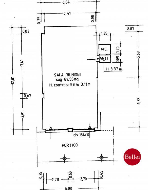Ufficio / Studio in affitto a Sassuolo, 1 locali, prezzo € 700 | CambioCasa.it