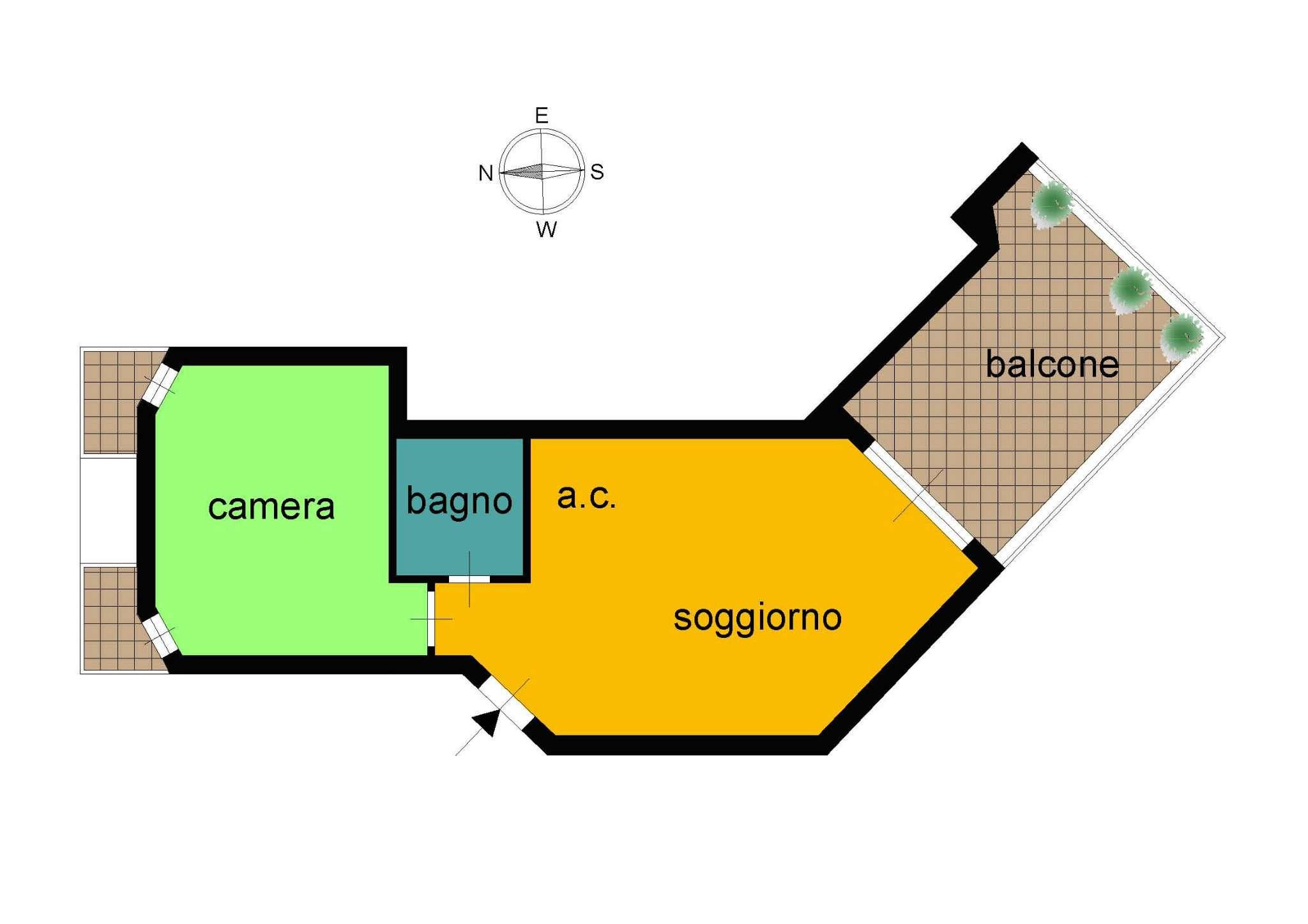 Appartamento in vendita a Santa Marinella, 2 locali, prezzo € 130.000 | CambioCasa.it