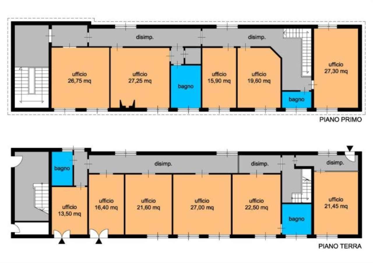 Ufficio / Studio in vendita a Fiumicino, 11 locali, prezzo € 1.000.000 | Cambio Casa.it
