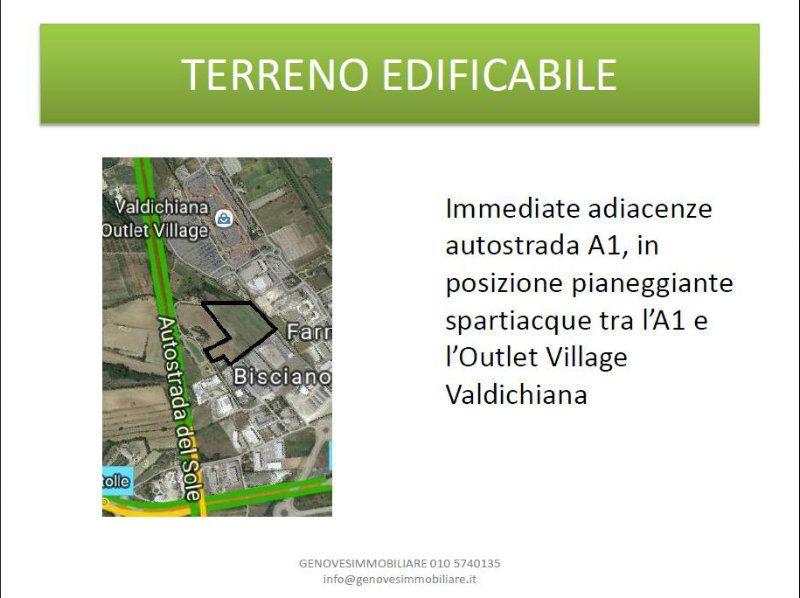 Terreno Edificabile Comm.le/Ind.le in vendita a Sinalunga, 9999 locali, prezzo € 3.400.000   CambioCasa.it