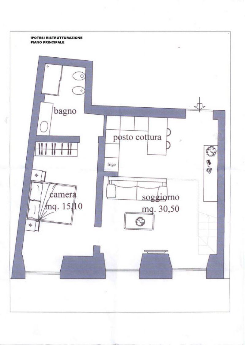 Vendita  bilocale Genova Via Luccoli 1 546852