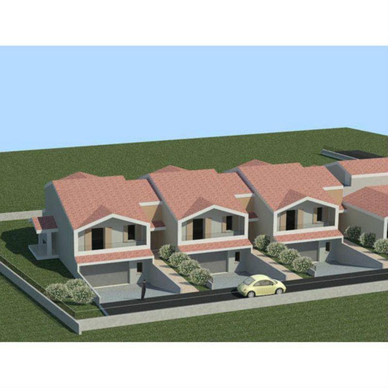 Villa a Schiera in vendita a Sangiano, 4 locali, prezzo € 220.000 | Cambio Casa.it