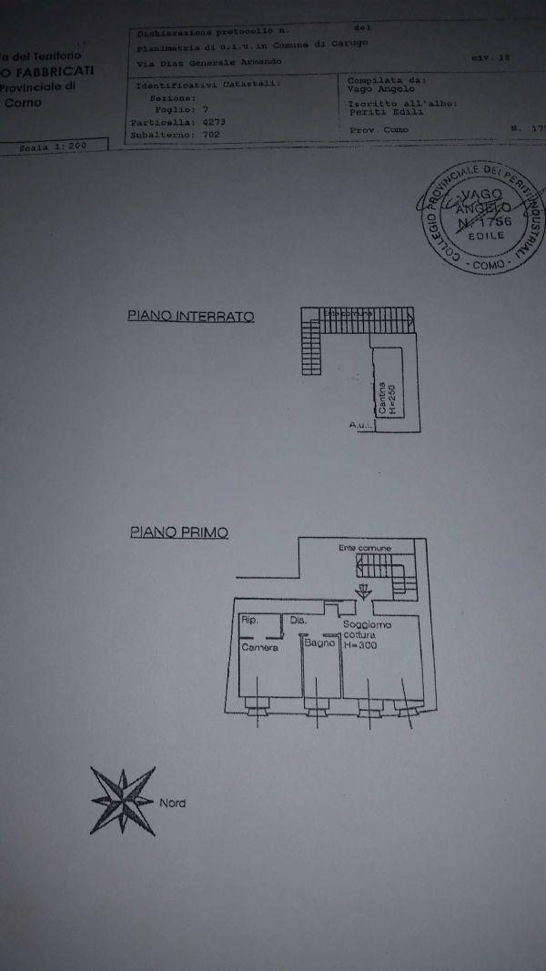 Vendita  bilocale Carugo Via Armando Diaz 1 838285