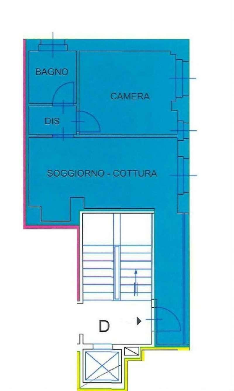 Vendita  bilocale Milano Piazzale Loreto 1 1034079
