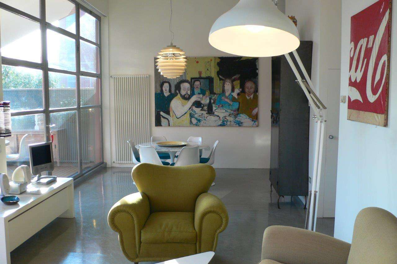 Loft open space in vendita a milano via ventura for Via ventura 14 milano