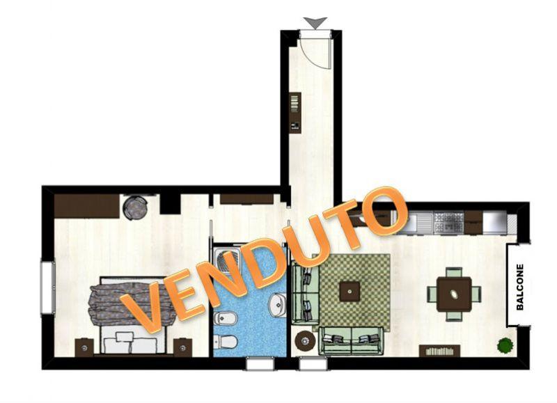 Vendita  bilocale Ceriale Piazza Lombardia 1 906084