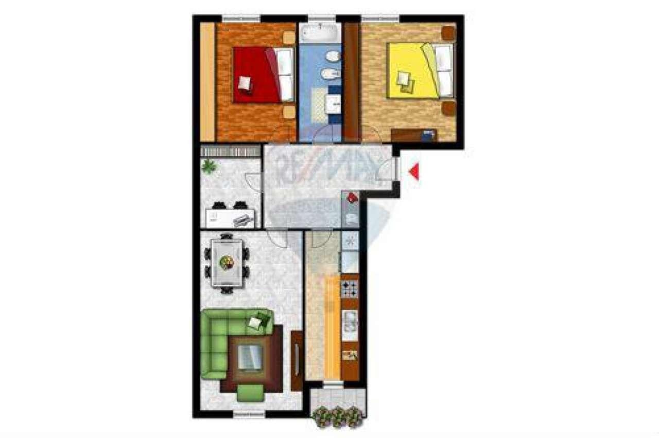 Appartamento in vendita a Baranzate, 3 locali, prezzo € 95.000 | Cambio Casa.it