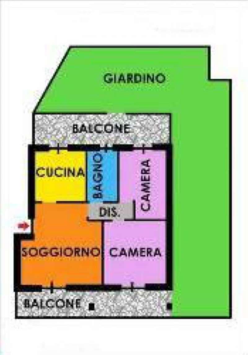 Appartamento in affitto a Cesate, 3 locali, prezzo € 700 | Cambio Casa.it