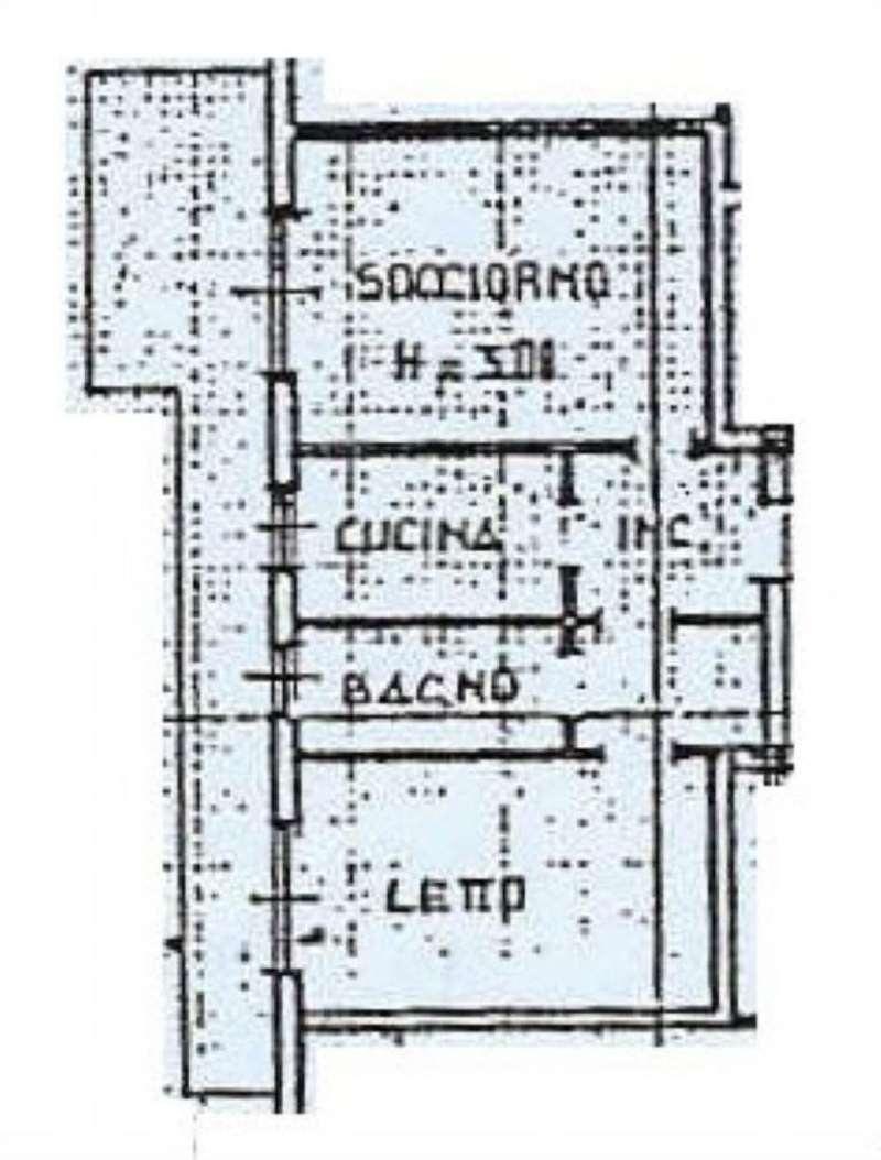 Vendita  bilocale Castellanza Via Borsano 1 1043575