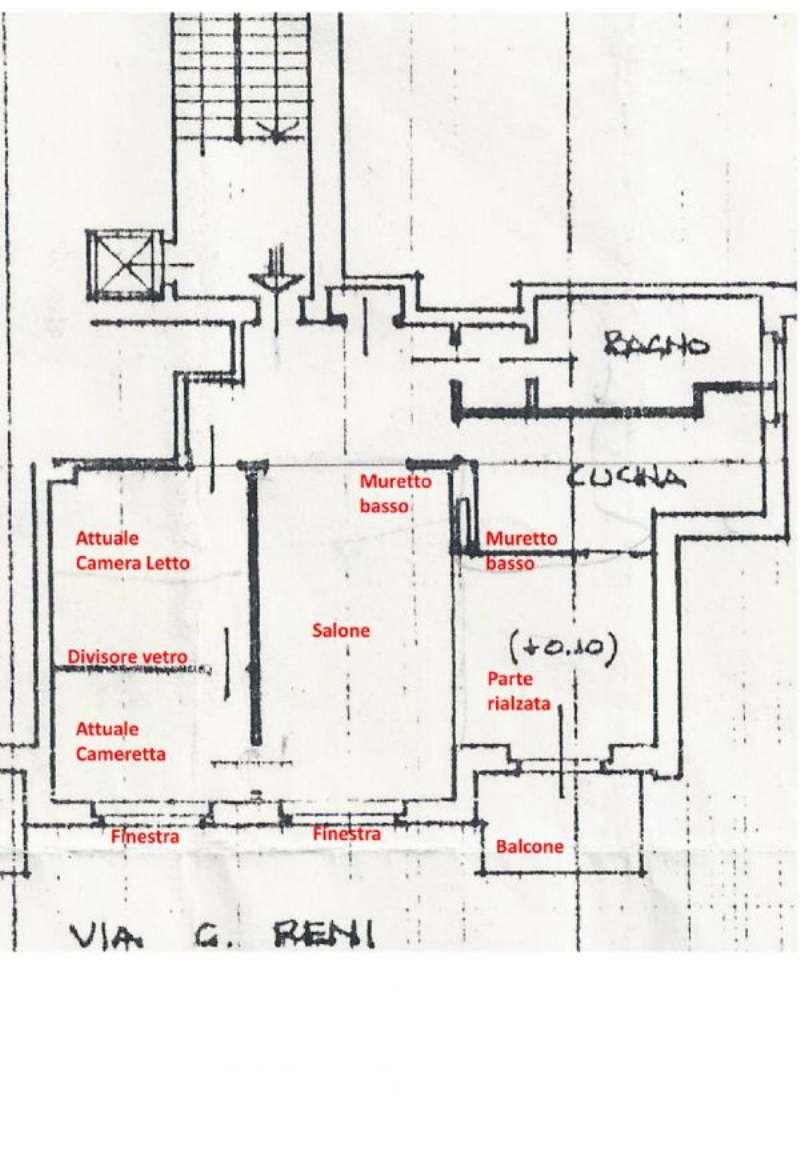 Vendita  bilocale Torino Via Guido Reni 1 1007666