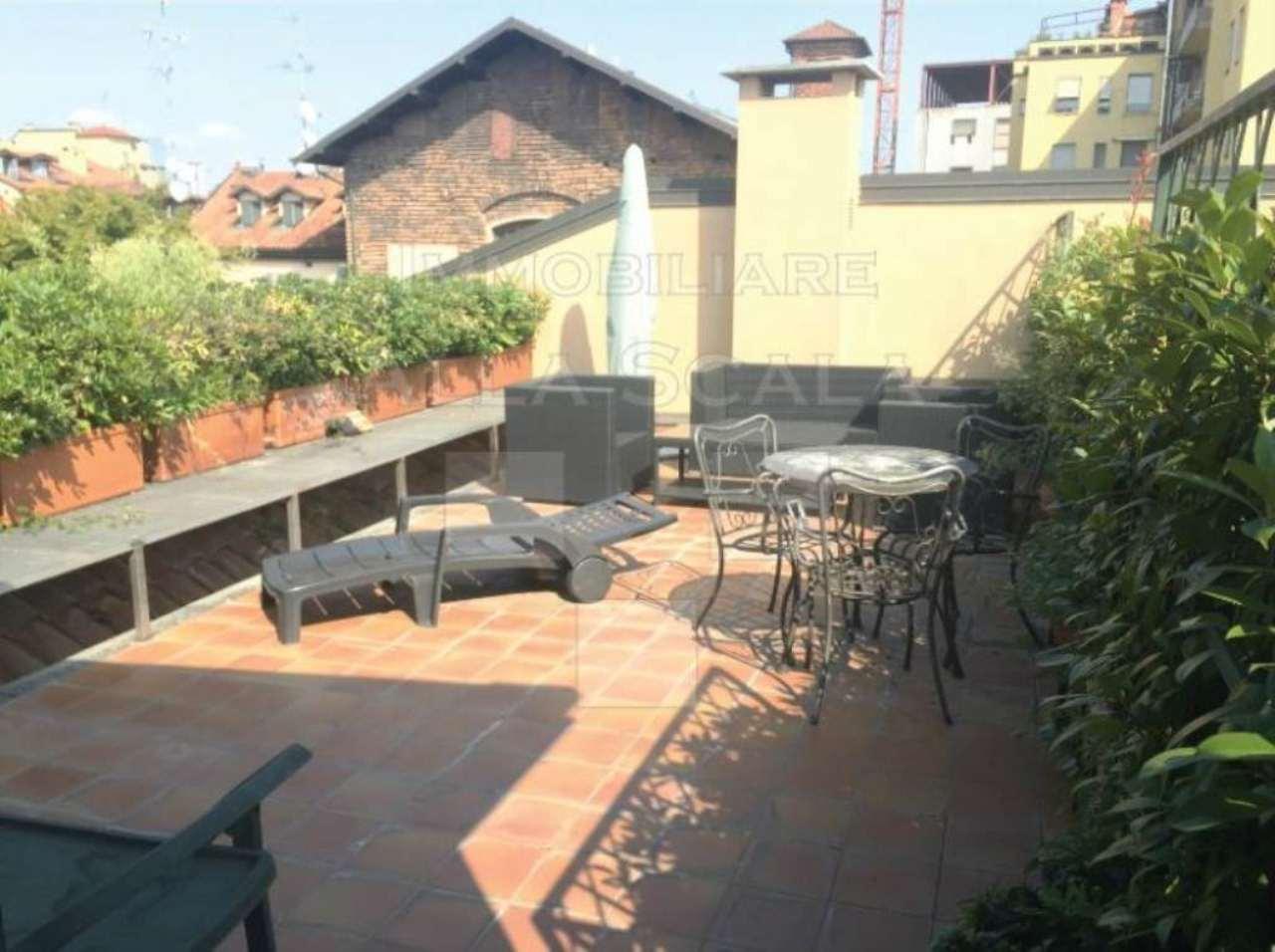 Attico / Mansarda in affitto a Milano, 5 locali, zona Zona: 1 . Centro Storico, Duomo, Brera, Cadorna, Cattolica, prezzo € 4.160 | Cambio Casa.it