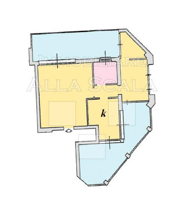 Affitto  bilocale Milano Via Anfiteatro 1 939751