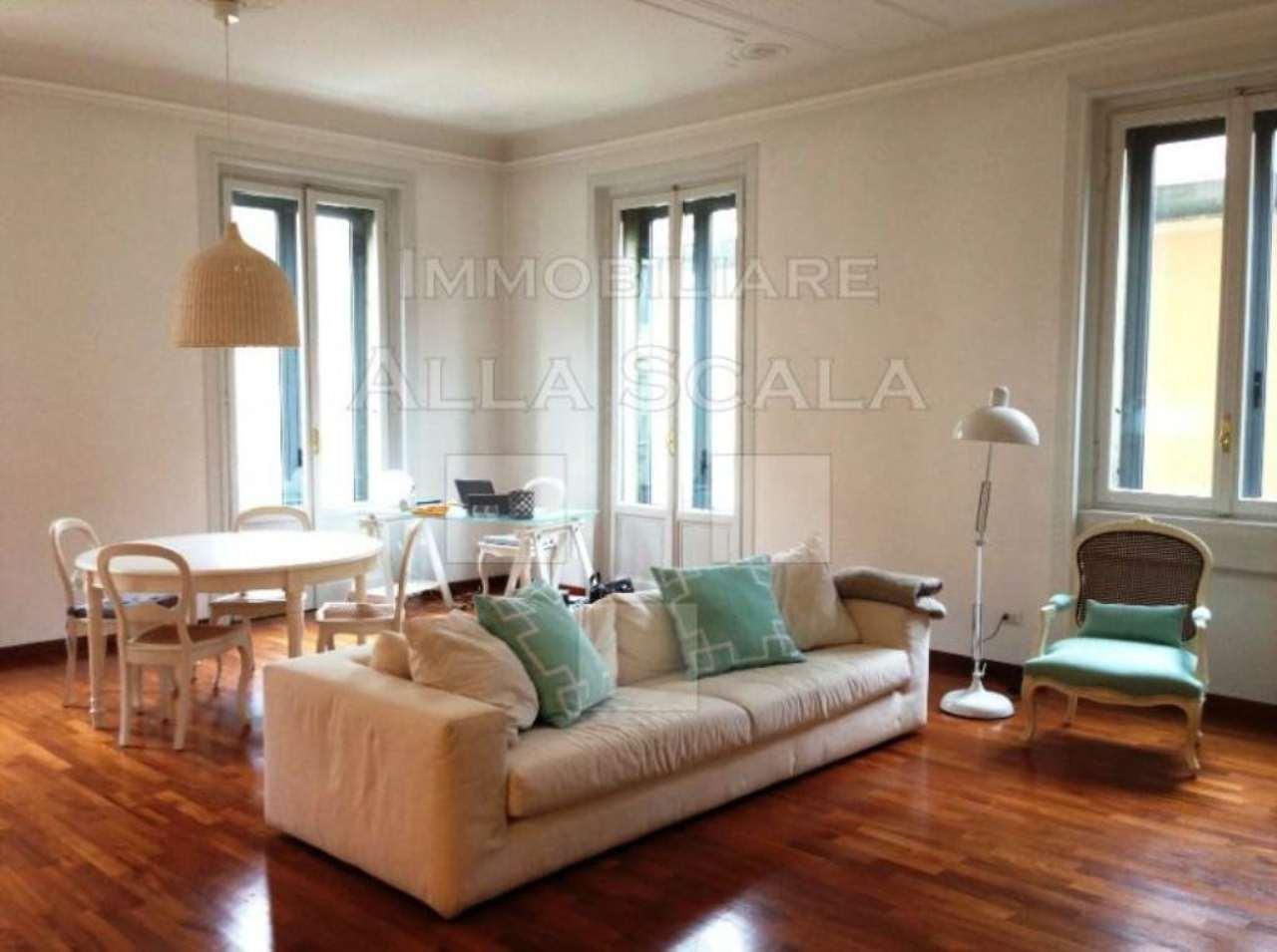 Appartamento in Affitto a Milano 01 Centro storico (Cerchia dei Navigli): 4 locali, 135 mq