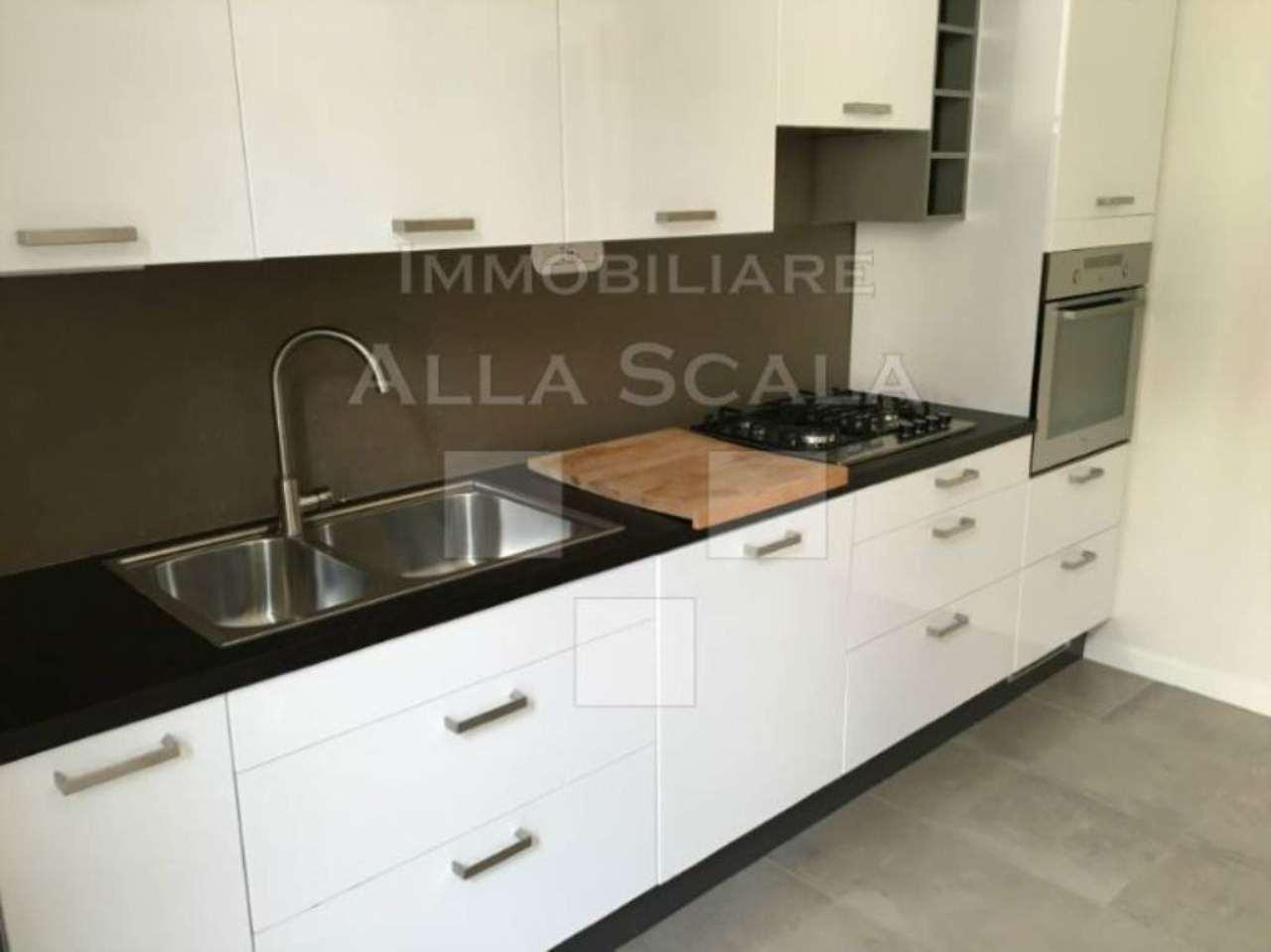 Appartamento in affitto a milano via pietro maestri for Appartamento design affitto milano