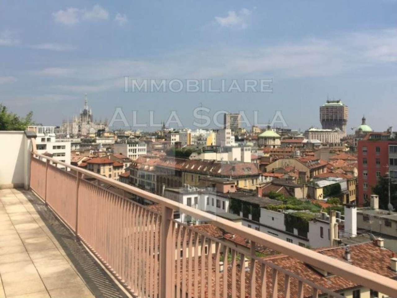 Attico / Mansarda in affitto a Milano, 4 locali, zona Zona: 1 . Centro Storico, Duomo, Brera, Cadorna, Cattolica, prezzo € 3.660 | Cambio Casa.it