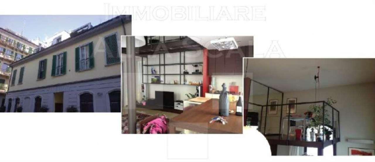 Loft open space di lusso in vendita a milano via casale for Piani di lusso open space
