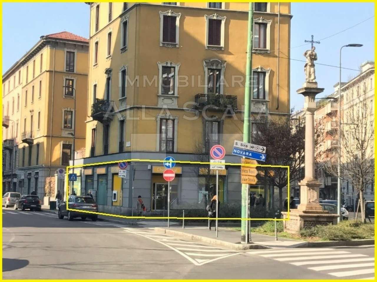 Negozio-locale in Affitto a Milano 08 Vercelli / Magenta / Cadorna / Washington: 5 locali, 320 mq