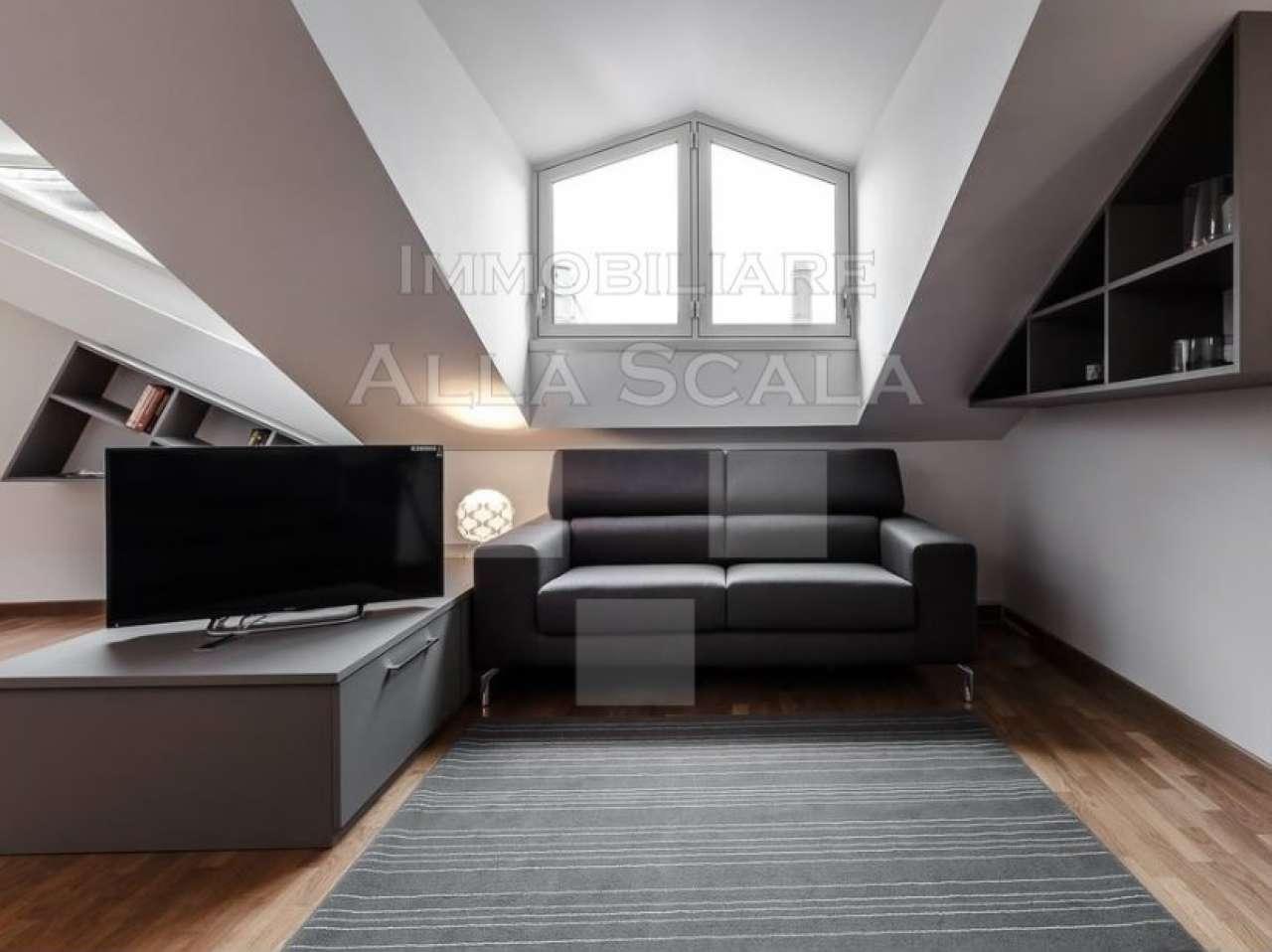 Attici e mansarde in vendita a milano for Vendita case milano centro