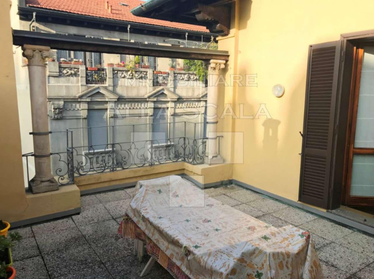 Attico in Affitto a Milano 01 Centro storico (Cerchia dei Navigli): 5 locali, 250 mq