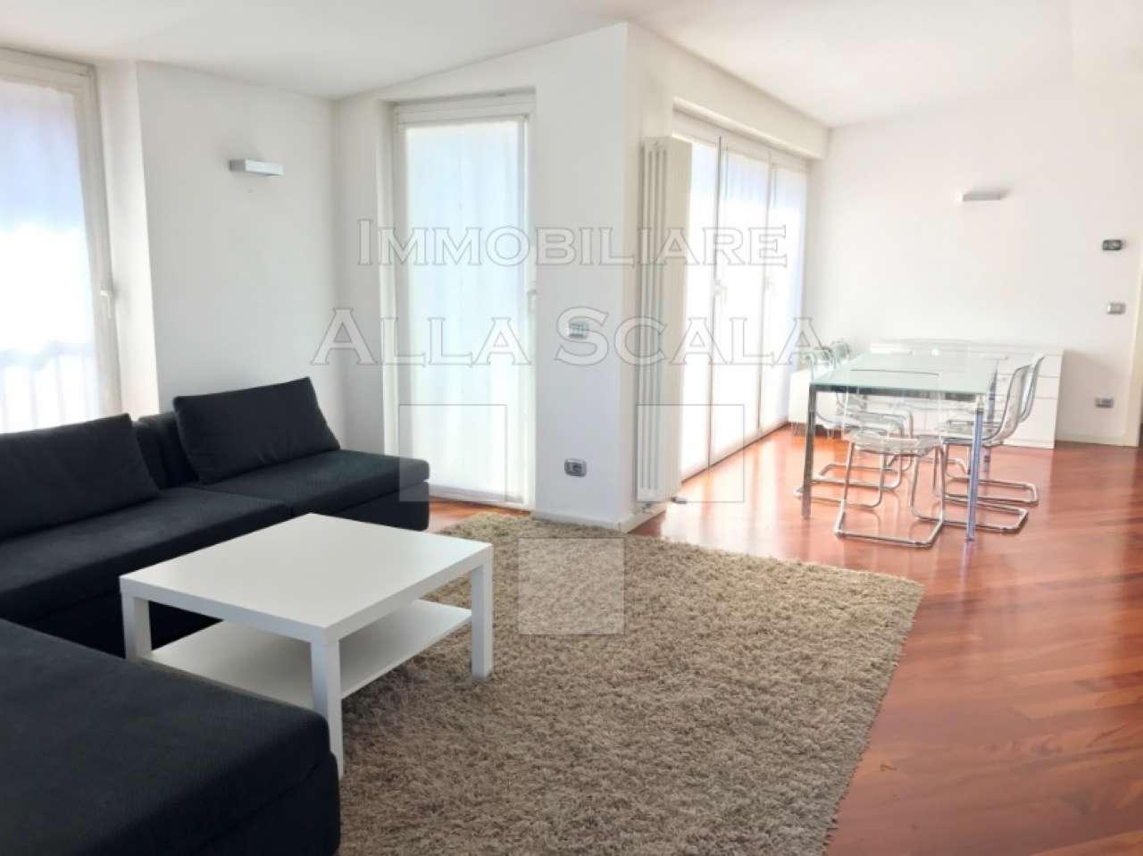 Attico / Mansarda in affitto a Milano, 3 locali, zona Zona: 1 . Centro Storico, Duomo, Brera, Cadorna, Cattolica, prezzo € 3.000 | Cambio Casa.it