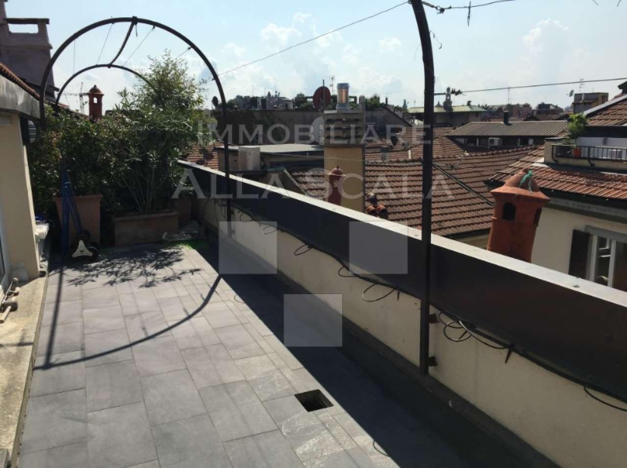 Attico / Mansarda in affitto a Milano, 5 locali, zona Zona: 1 . Centro Storico, Duomo, Brera, Cadorna, Cattolica, prezzo € 5.000 | CambioCasa.it