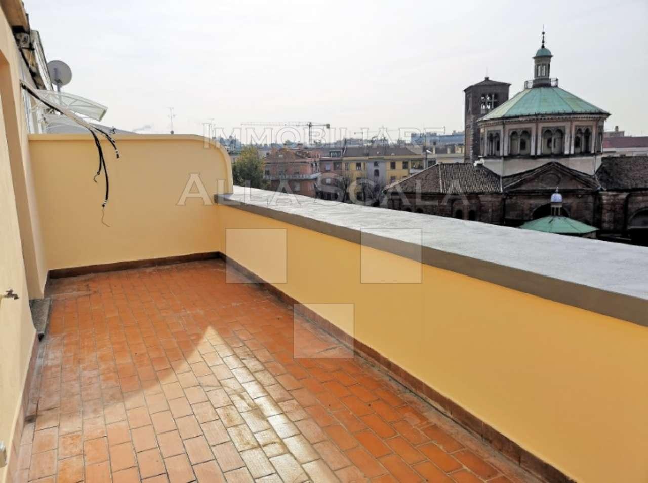 Attico in Affitto a Milano 06 Italia / Porta Romana / Bocconi / Lodi: 3 locali, 90 mq